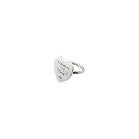 Boccadamo - Bracciale in lycra blu cobalto con borchie e cristalli Swarovski