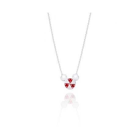 Peppermint Mickey Necklace - Disney