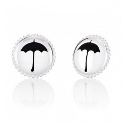 Mary Poppins Umbrella Button Earrings - Disney