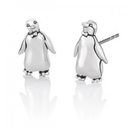 Mary Poppins Penguin Stud Earrings -Disney
