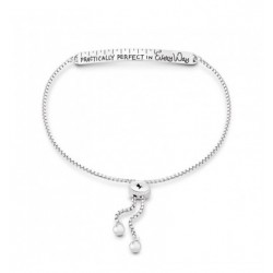 "bracciale scritta ""Practically perfect in every way"""